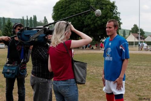 Stéphane, un spartakiste en équipe de France
