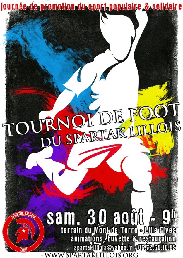 tournoi foot spartak lillois