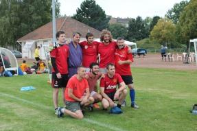 Le Baratte À Frites FC, premier vainqueur du tournoi du Spartak !