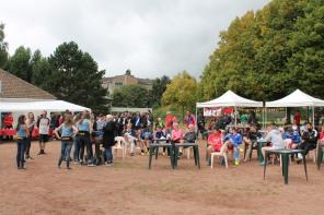 L'association Kyrielle Danse, qui a offert une prestation aux nombreux participants.