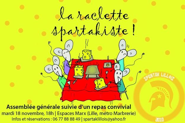 Raclette spartakiste