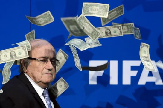 Blatter dollards FIFA