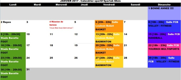 calendrier-spartak-lillois-janvier